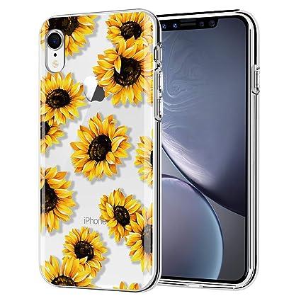 Amazon.com: Funda para iPhone XR de AIKIN, diseño de flores ...