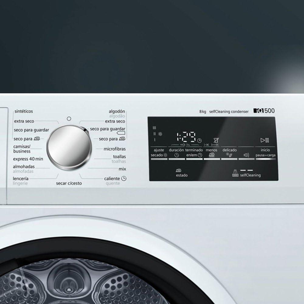 Siemens iQ500 WT47G438EE Independiente Carga frontal 8kg A++ ...