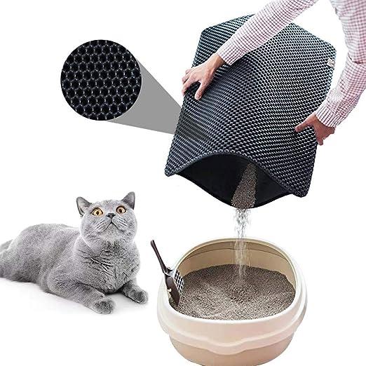 MQW - Esterilla de Goma EVA para Gatos, Impermeable, cómoda y ...