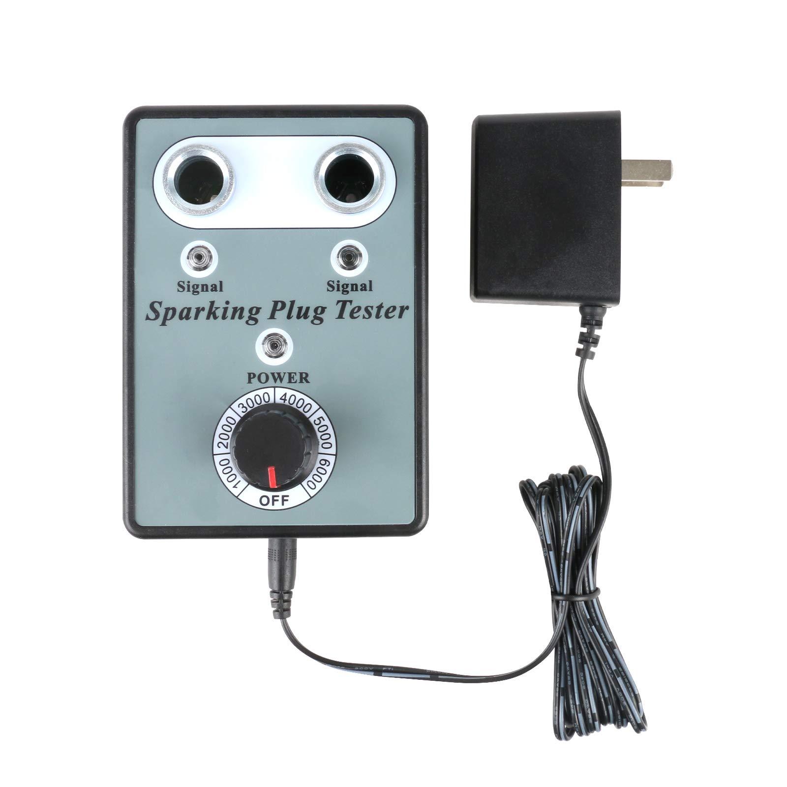 AUTOOL Car Spark Plug Tester Automotive Ignition Testers Diagnostic Scanner Gasoline Vehicle Detector Ignition Plug Analyzer