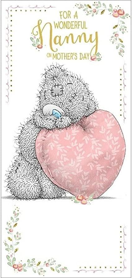 From Grandson on Mother/'s Day Me to You Tatty Teddy Mother/'s Day Card