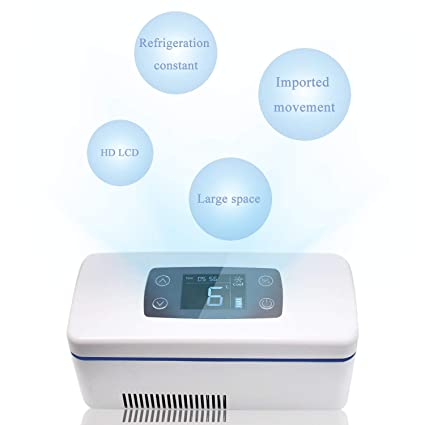 CGOLDENWALL Refrigerador de Medicamento Ultra Silencioso Nevera de ...