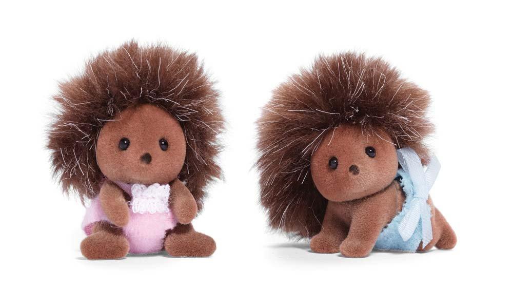 Calico Critters Pickleweeds Headgehog Twins CF1429