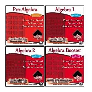 High Achievers Perfect Algebra Skills 4 CDs