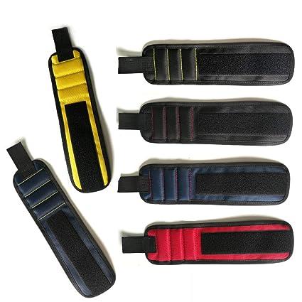 NiceWave pulsera magnética ajustable magnético estupendo correa para la muñeca de uñas, tornillos de retención