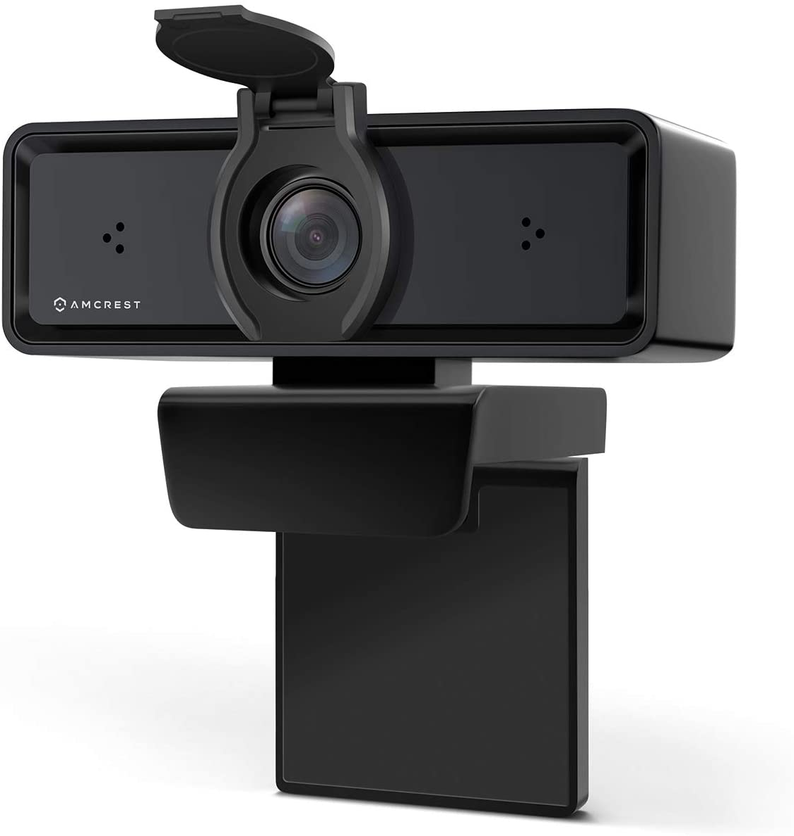 Amcrest ProStream 1080P Webcam with Dual-Microphone & Privacy Cover, Web Cam USB Camera, Computer HD Streaming Webcam for PC Desktop & Laptop, Wide Angle Lens & Sensor for Superior Low Light (AWC2198)