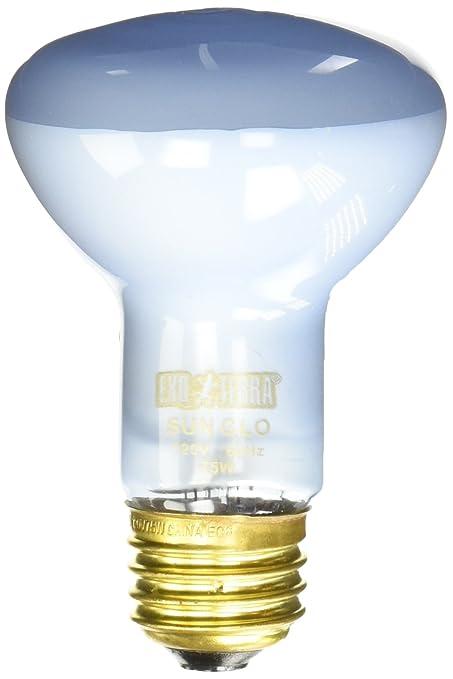 Exo Terra Sun Glo Basking Spot Lamp, 75 Watt/120 Volt