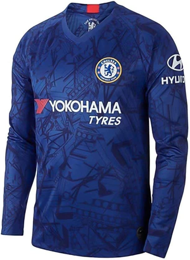 Custom Any Name and Number 2019-2020 Home//Away Soccer Jersey for Kids Adult Youth Personalized Long Sleeve Football Jersey Kits