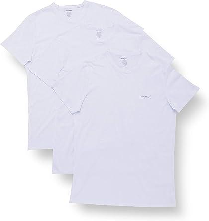 Diesel - Camiseta para Hombre UMTEE-JAKETHREEPACK (pack de 3 ...