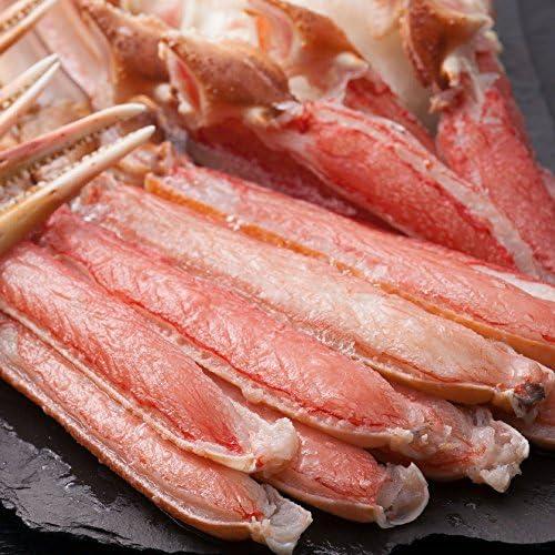 カット済み 生ズワイガニ 天然 ずわい蟹 1.2kg (約3~4人前) カニ鍋 カニしゃぶ 焼き蟹 【さっぽろ朝市 高水】