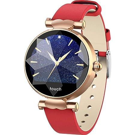 Sponsi Reloj Inteligente para Mujer, Bluetooth Smartwatch IP67 ...