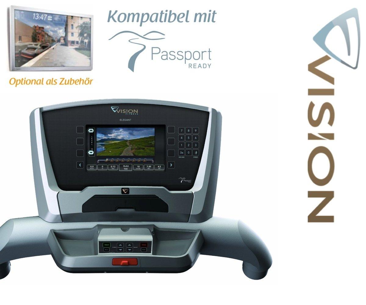 VISION FITNESS TF 40 Elegante Cinta de Correr - Passport Ready ...