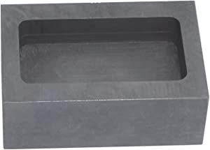 High Purity Refining Graphite Casting Melting Ingot Mold for Gold Silver Metal (55x37x20mm - for 150g Gold)