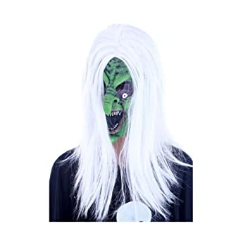 PromMask Mascara Facial Careta Protector de Cara dominó Frente Falso Halloween Persona Completa Prop Maquillaje Danza
