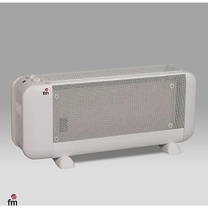 FM Calefacción BM-15 - Radiador, Mica, Piso, Giratorio, 1500 W