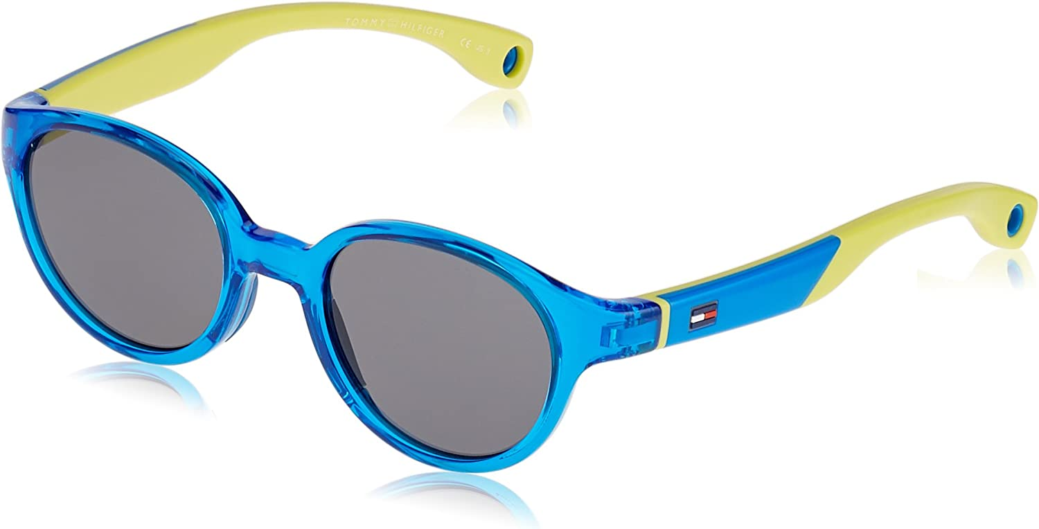 Tommy Hilfiger TH 1424/S DO Gafas de sol, Blue, 43 Unisex-Adulto