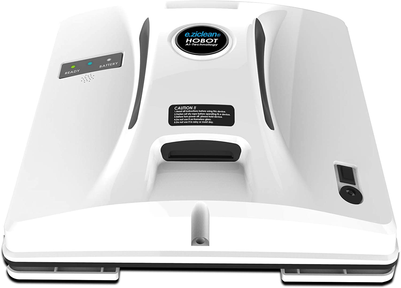 Negro Pl/ástico EZIclean Bluetooth HOBOT Square Bluetoth-Lavado DE Ventana Robot 58 Decibeles