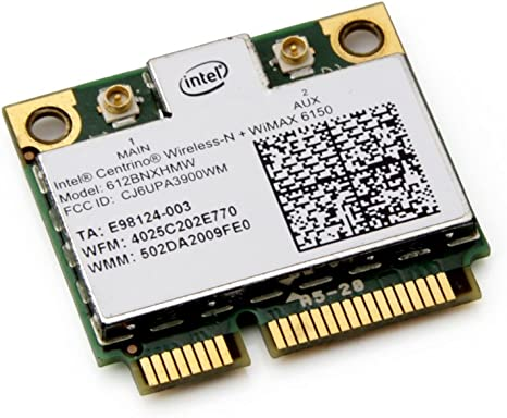 New Intel® Centrino® Wireless-N + WiMAX 6150 612BNXHMW Wireless PCIE Half Hight Wireless WLAN Wifi Card 802.11b/g/n 300Mbps