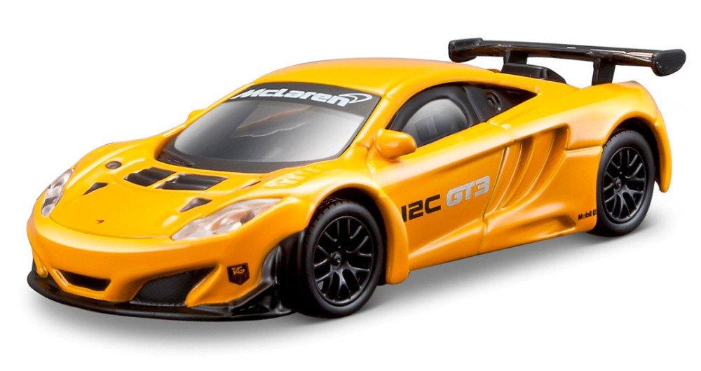 Bburago 2012 McLaren MP4-12C GT3 38007, Orange, 1:43 Die Cast