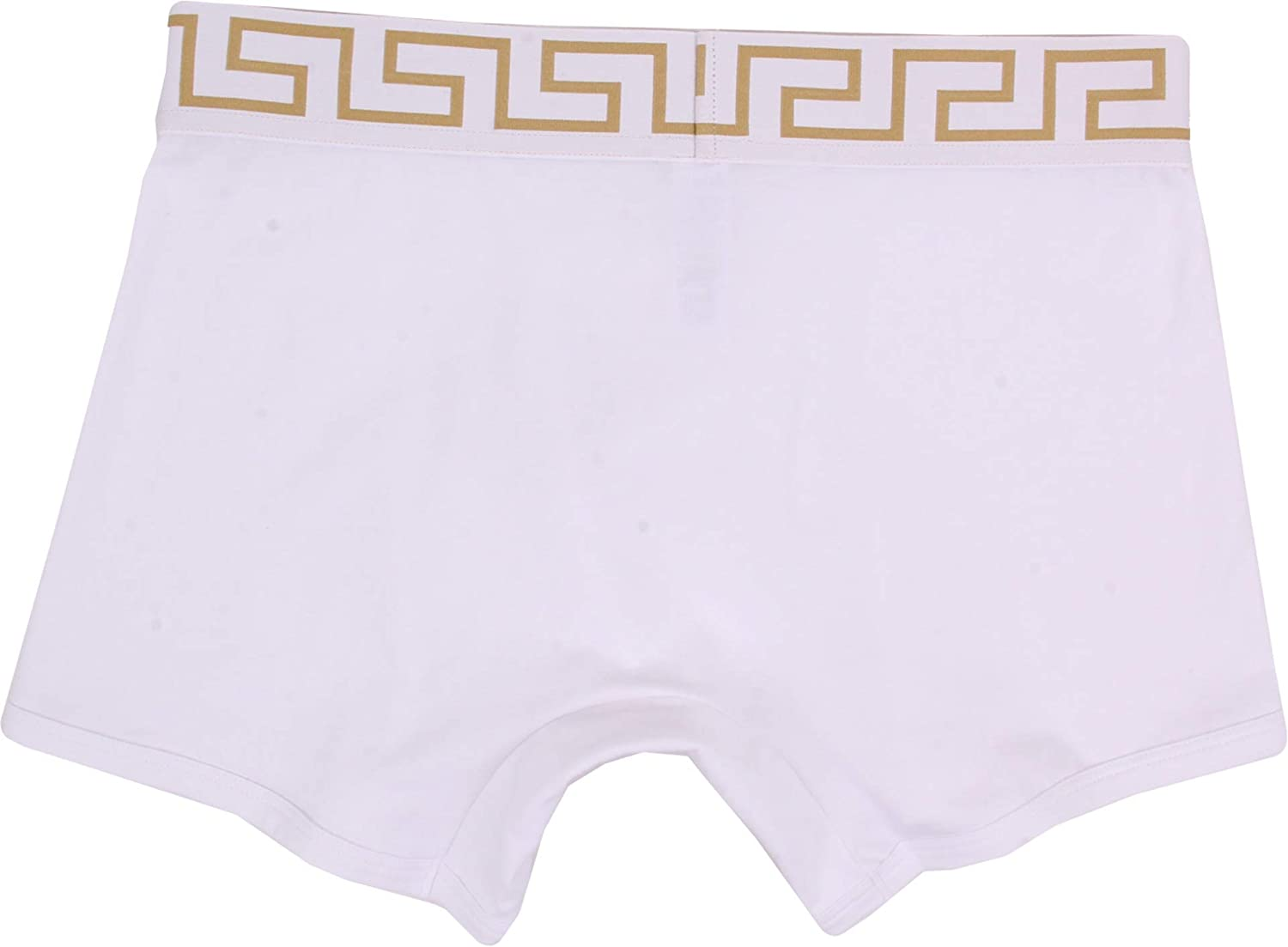 Versace 3-Pack Iconic Low-Rise Men/'s Briefs White//gold