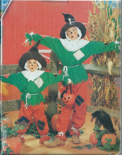 Butterick vintage sewing pattern 4287 children's scarecrow costume - Size S-XL -