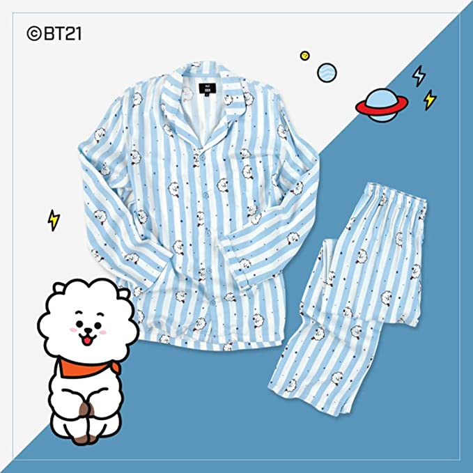 BT21 X Hunt Innerwear Collarboration Pajamas (L, RJ)