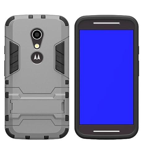 2 in 1 Funda Carcasa para Motorola Moto G3 Fenrad® Hybrid TPU + PC Rugged Armor Kickstand Doble Fuerza Capa Resistente Delgado Hard Shell Caso Back ...
