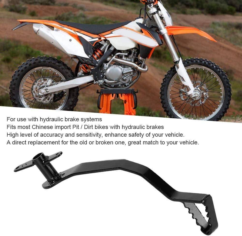 Levier de frein p/édale de levier de frein hydraulique arri/ère et p/édale de levier /à ressort pour Pit Dirt Bike 50cc 110cc 125cc
