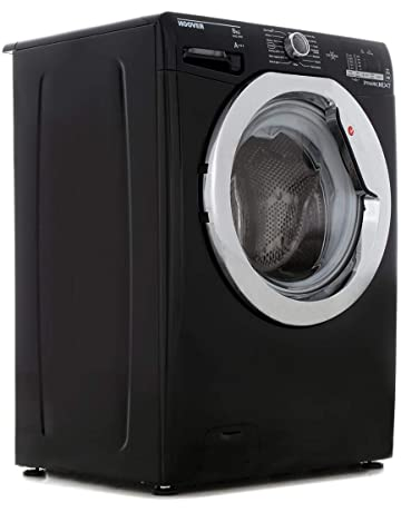 Hoover DXOC68C3B Washing Machine Glossy Black Freestanding 8kg 1600rpm A+++ Energy Rating A Wash Rating 16 Programmes [Energy Class A+++]