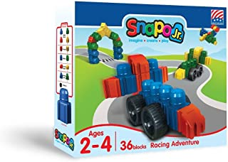 product image for Snapo Jr Racing Adventure 36 Piece Set