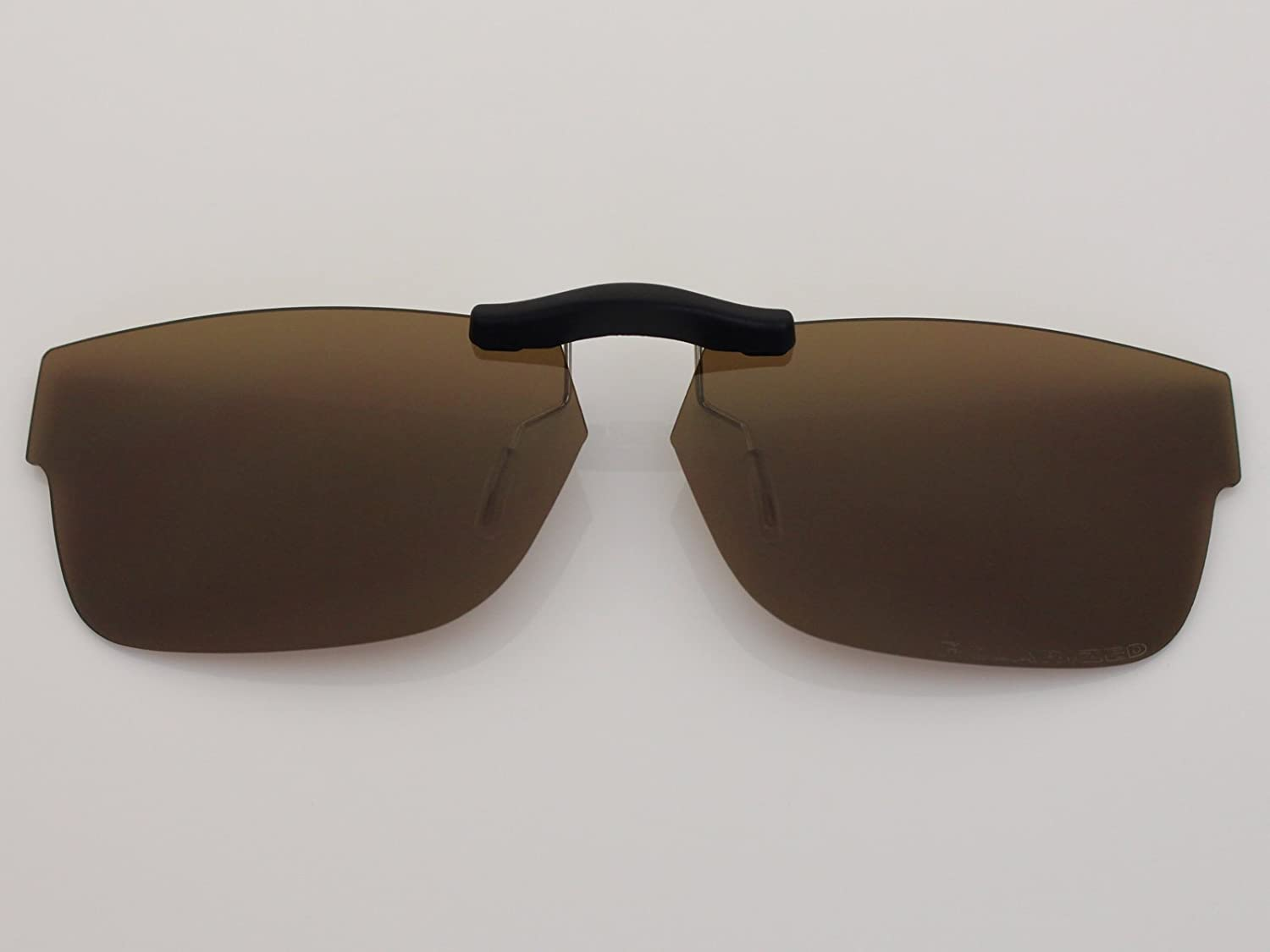 f216e514a ... Custom Fit Polarized CLIP-ON Sunglasses For Ray-Ban RB5268 50X17 Brown  COODY ...