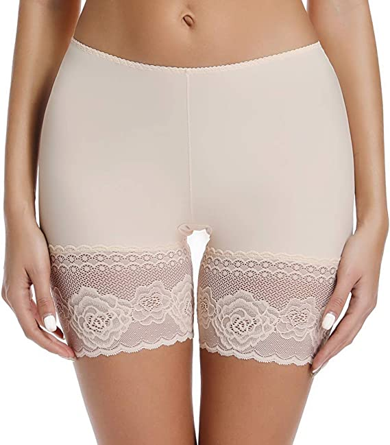New Slip Shorts for Under Dresses Thigh Bands Underwear Womens Lace Undershorts Malbaba Lingerie