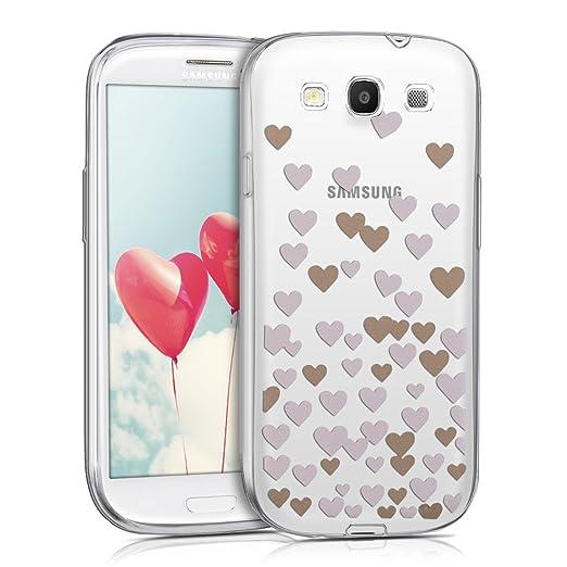 13 opinioni per kwmobile Cover per Samsung Galaxy S3 / S3 Neo- Custodia in silicone TPU- Back