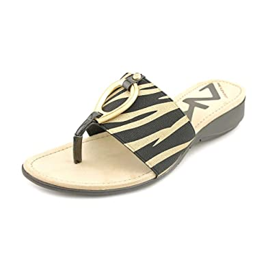 0735b1c8f1a3 Anne Klein Sport Kirsikka Thongs Sandals Shoes Womens  Amazon.co.uk  Shoes    Bags
