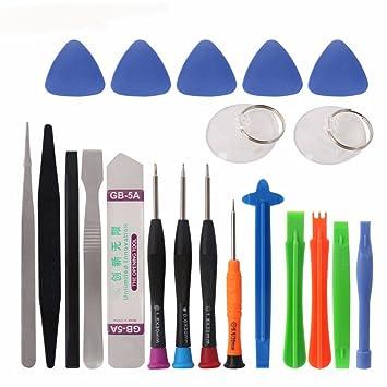 cohk 21 en 1 kit de herramientas de reparación de teléfono móvil ...