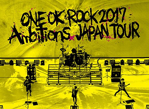 "ONE OK ROCK LIVE Blu-ray 「ONE OK ROCK 2017 ""Ambitions""JAPAN TOUR """