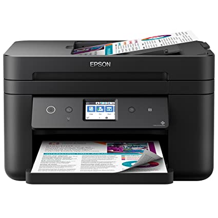 Epson Workforce WF-2860DWF - Impresora Color, Negro Mate, Ya ...