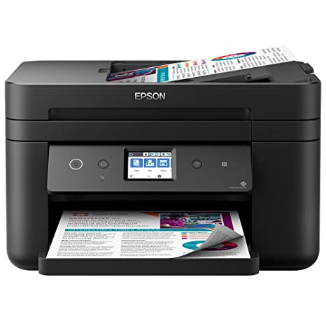 Epson Workforce WF-2860DWF - Impresora Color, Negro Mate, Ya Disponible en Amazon Dash Replenishment
