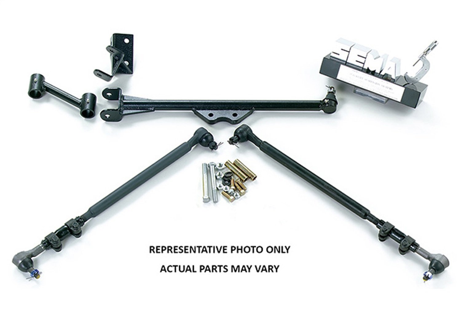 Superlift Suspension | 1024 | Superunner Steering Conversion - 1980-1996 Ford F-150 and Bronco - with 4-6'' Superlift Lift Kit