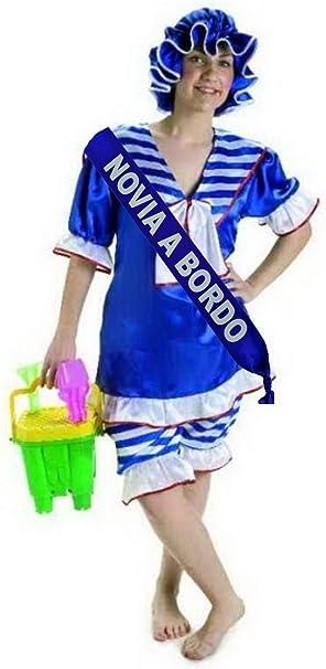 Disfraz de Bañista con Banda - Despedidas de Soltera: Amazon.es ...