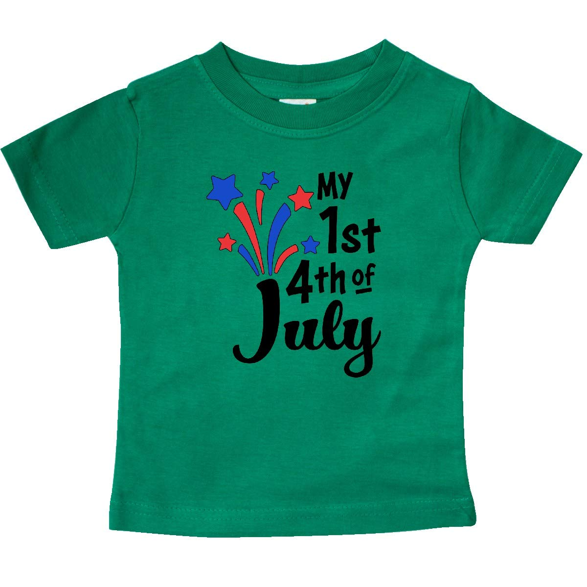 Fireworks Baby T-Shirt inktastic My 1st 4th of July