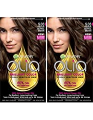 Garnier Hair Color Olia Oil Powered Permanent, 5.03...