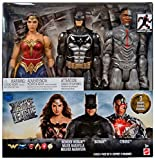 DC Justice League Tactical suit Batman, Cyborg, and Wonder Woman are highly detailed 12