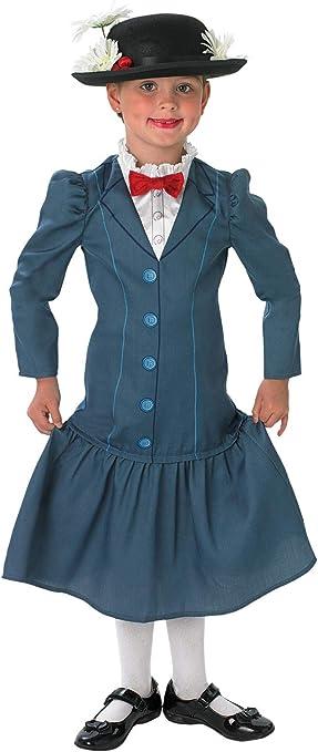 Rubies Mary Poppins - Disney - Niños Disfraz - Grande - 128cm ...