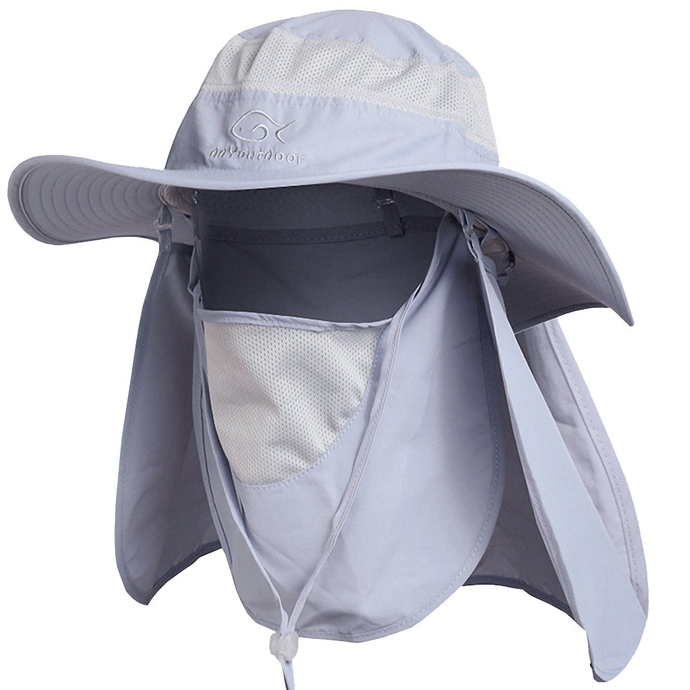 88692451ed3 Details about Ddyoutdoor 07-281 Fashion Summer Outdoor Sun Protection Fishing  Cap Neck Face