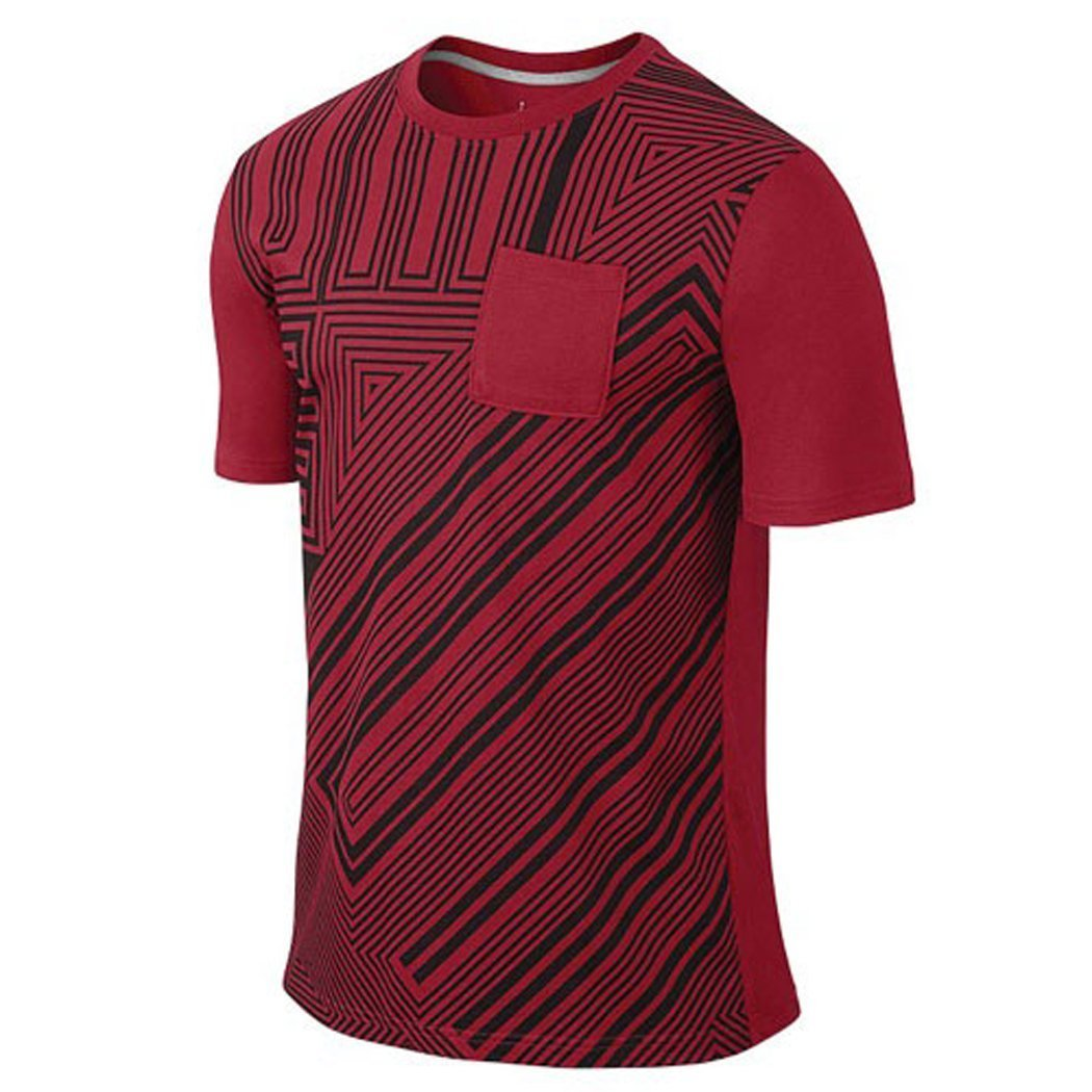 26c385b869ab Jordan Men s Air Jordan AJXI Zig Zag Pocket T-Shirt
