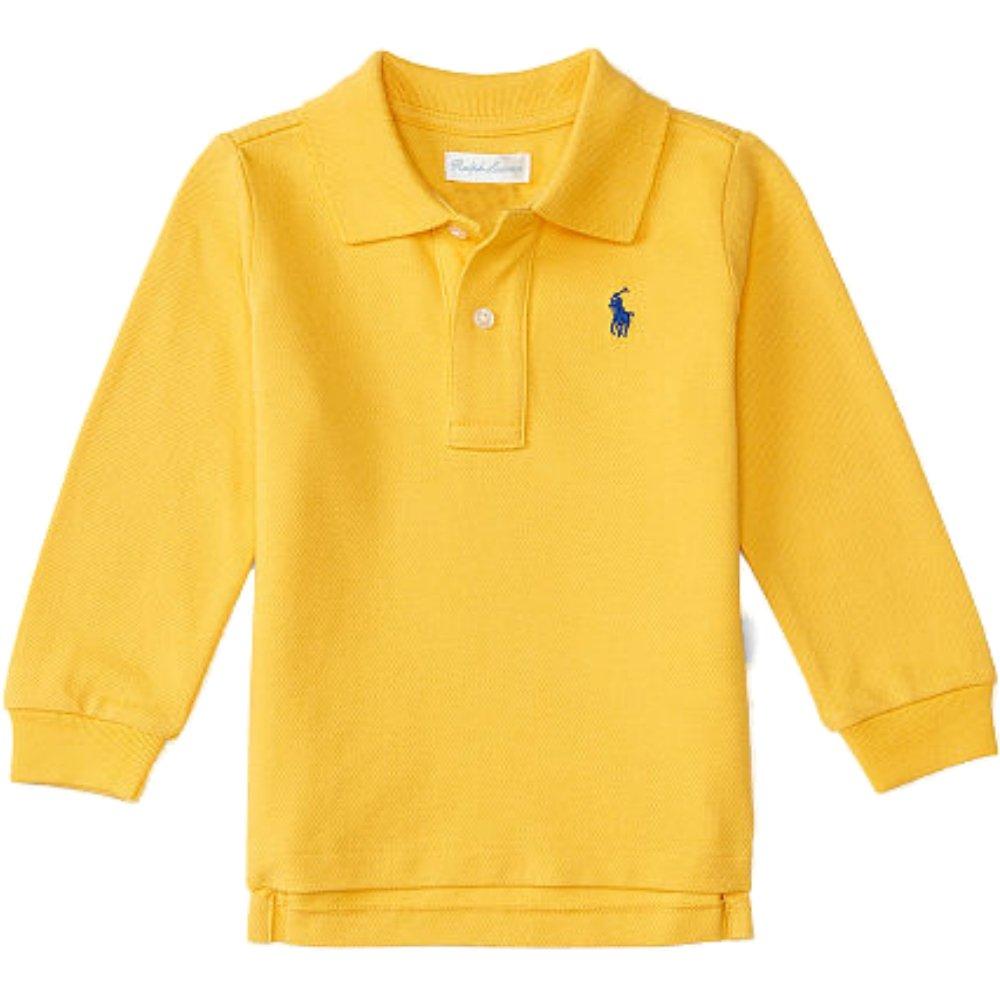 Ralph Lauren Baby Boys' Polo Shirt blue Saphire Blau 3-6 Months