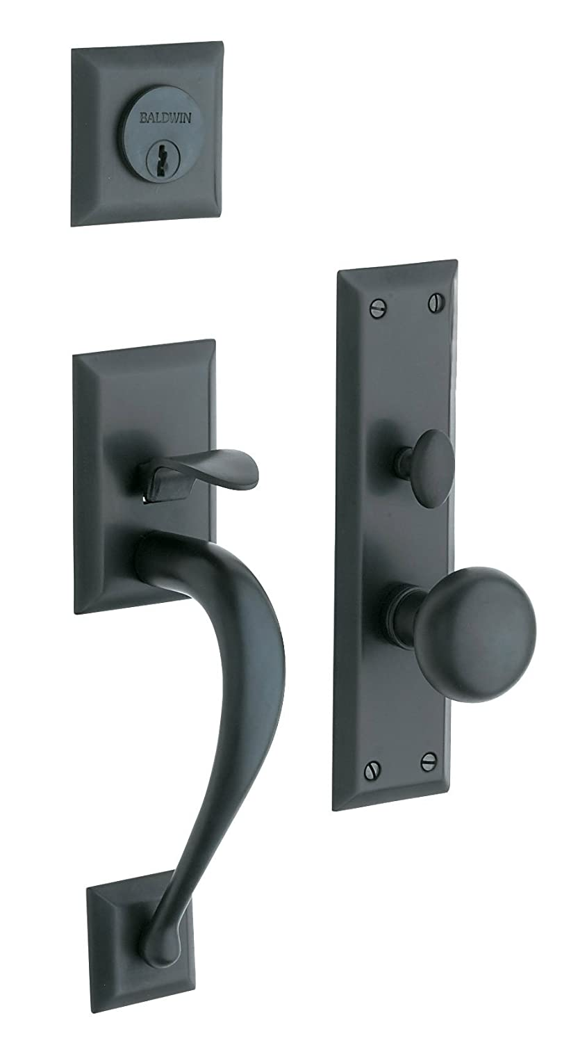 Entrance door handles featured is a powdercoated aluminium panel with sidelights and a robust for Exterior door handle and lock set