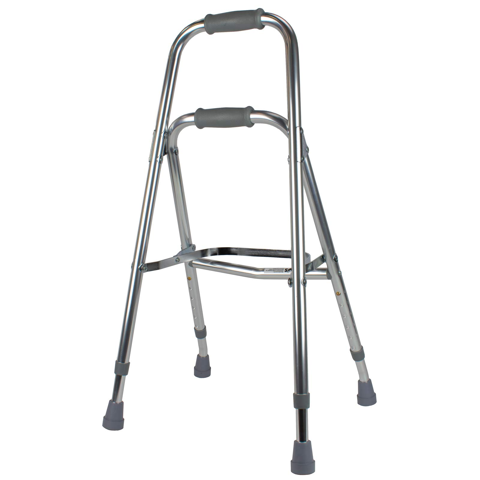 Days Hemi Walker, Mobility Aid for Elderly, Handicapped, Disabled users, One Arm or Hand Walker, Folding Walker, Aluminum Support Walker, Height Adjustable, Weight Capacity of Up to 300 Pounds by S-Day
