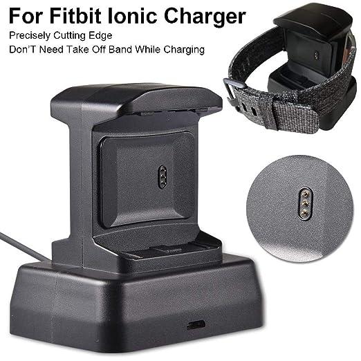 cuckoo-X Cargador Smartwatch Base de Carga Smartwatch para Fitbit ...